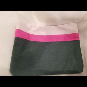 PINK AND GRAY UTILITY BAG